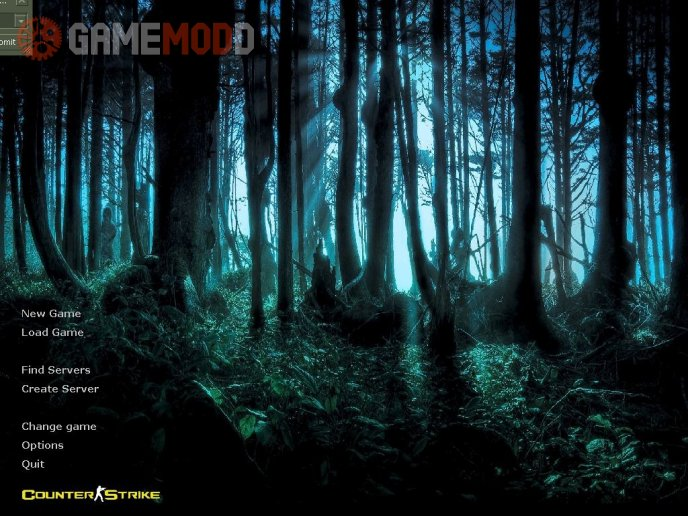 Menu Backgrounds > Mysterious Forest HD