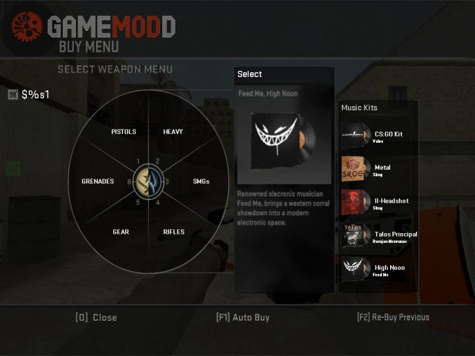 CSGO's Buy Menu For CS1.6