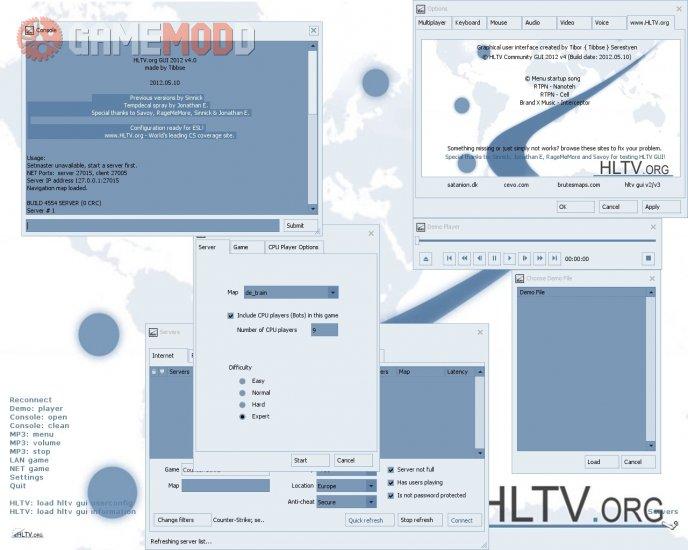 HLTV GUI 2012 v4.0