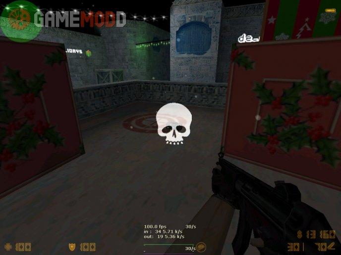C4 Skull led glow