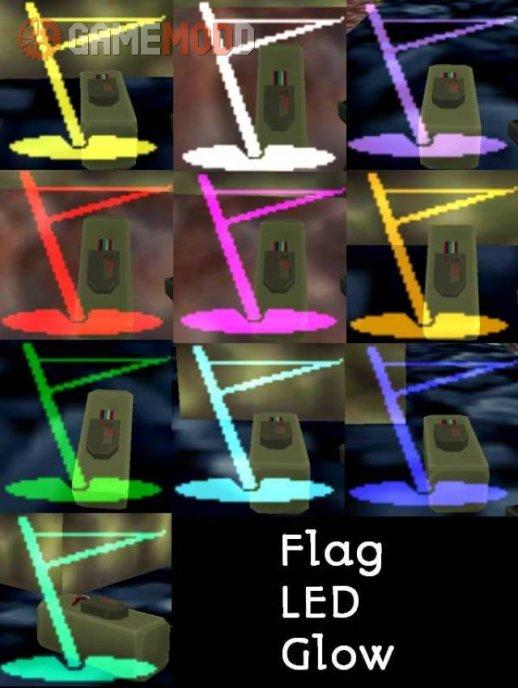 C4 LEDs Flag