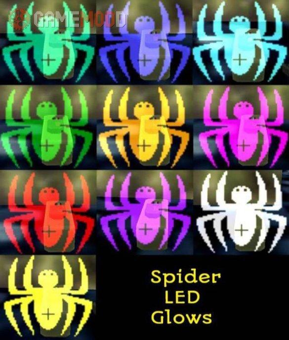C4 LEDs Spider