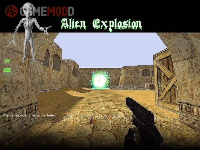 Alien Explosion
