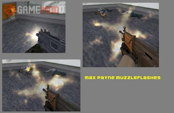 Max Payne Muzzle Flash