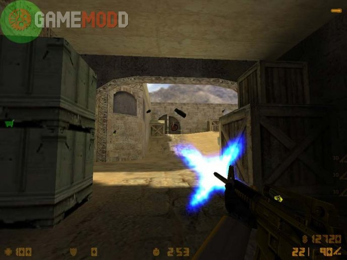 Default Muzzle Flash Recolors