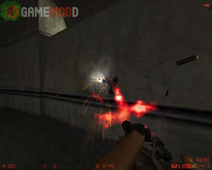 Red Muzzle Flash