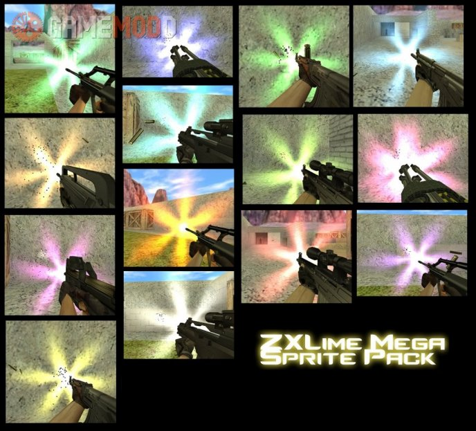 ZXLime Mega Muzzle Flash Pack