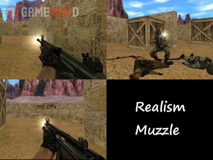 Realism Muzzle Flash