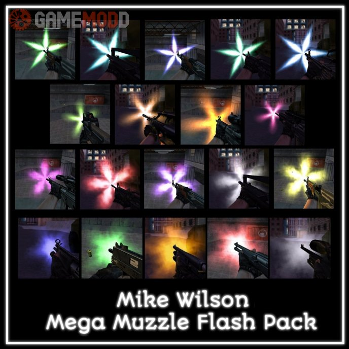 Mike Wilson Mega Muzzle Flash Pack