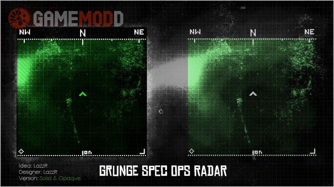 Grunge Spec Ops Radar