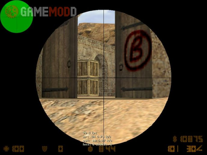 Simple CS 1.6 scope
