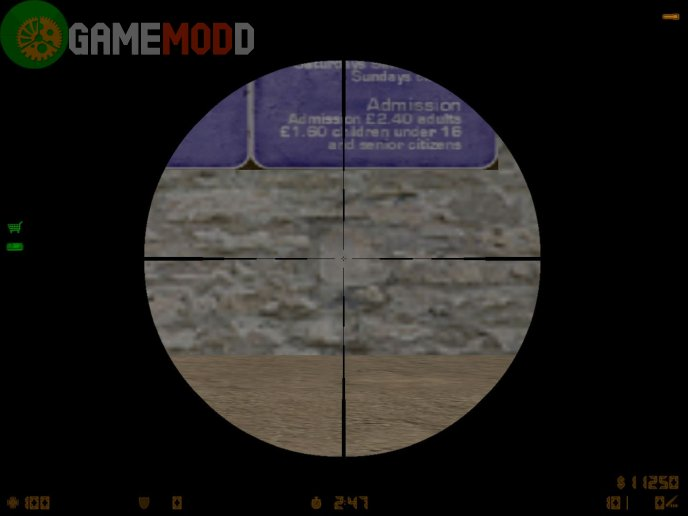 Simple Cross for AWP - CS 1.5