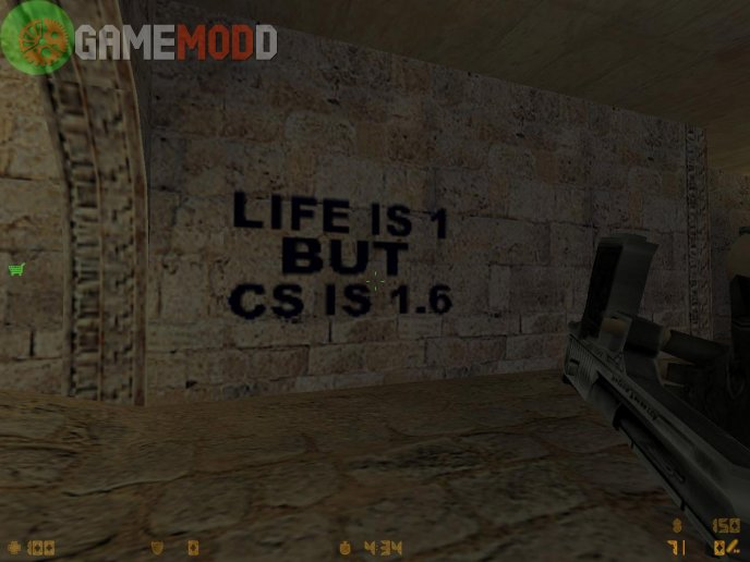 Life is 1 but cs is 1.6