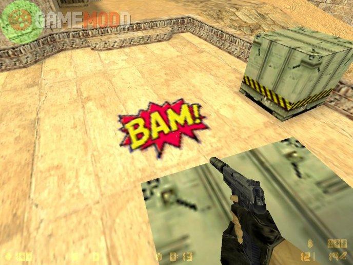 BAM! Spray logo