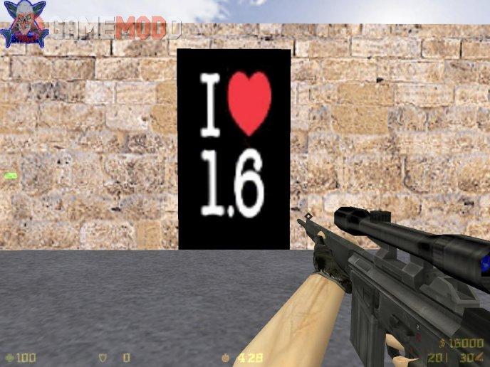 I LOVE CS 1.6