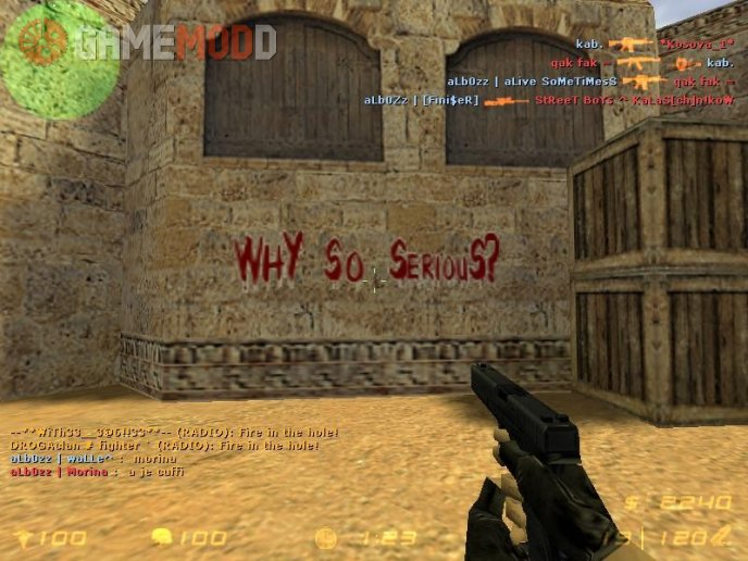 Why So Serious spray CS 1.6