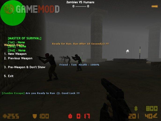 Zombie Escape Mod