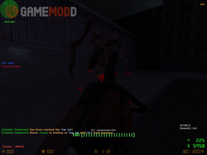 Zombie Darkness Server [CS 1.6]