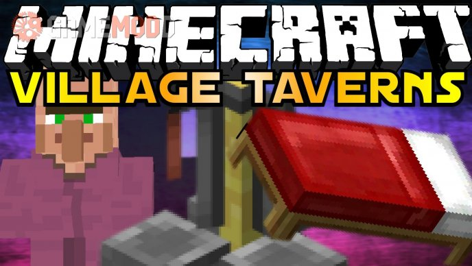 Village Taverns [1.7.2] [1.6.4] [1.6.2]