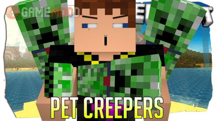 Tameable (Pet) Creepers [1.7.2] [1.6.4]