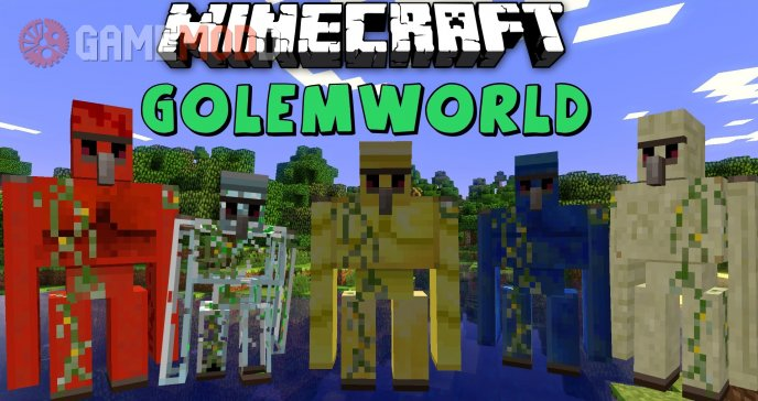 Golem World [1.7.2] [1.6.4] [1.6.2]