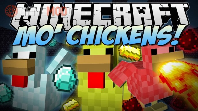 Mo' Chickens [1.7.10] [1.6.4]