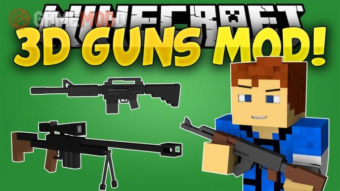 3D Gun [1.7.10] [1.7.2] [1.5.2]