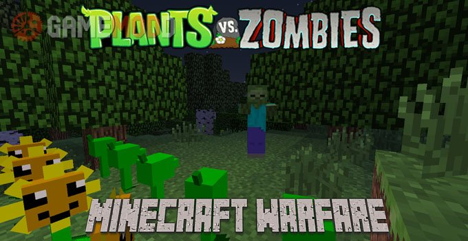 Plants Vs Zombies Minecraft Warfare [1.7.10] [1.7.2]