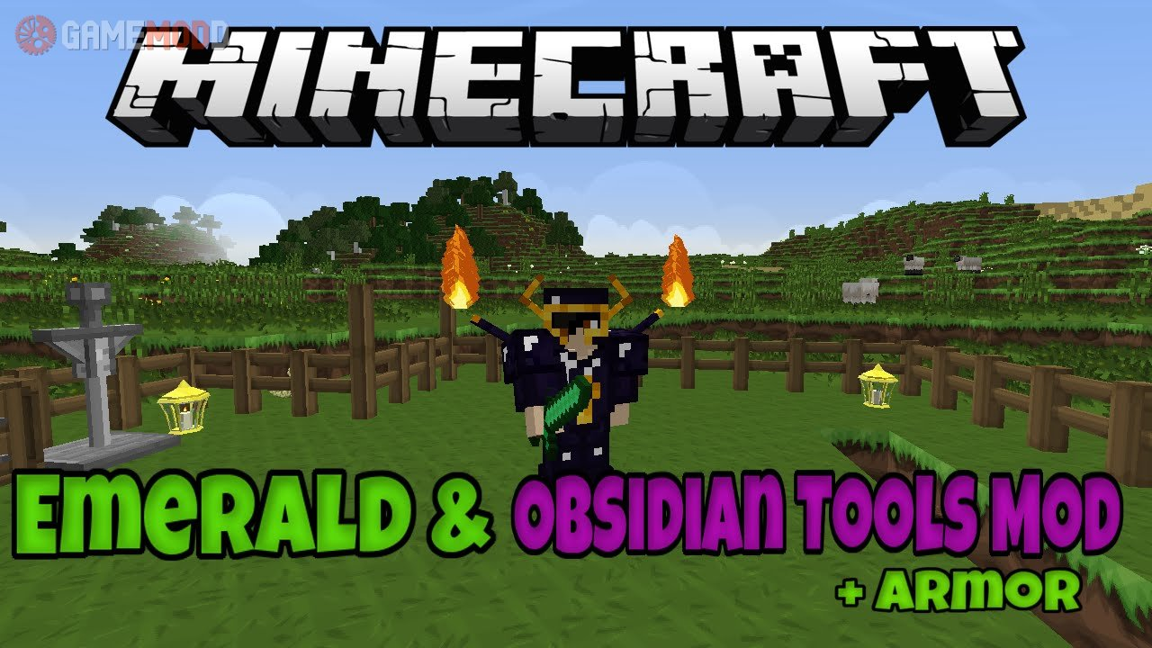 Emerald and Obsidian Tools [1 8] [1 7 10] » Minecraft - Mods