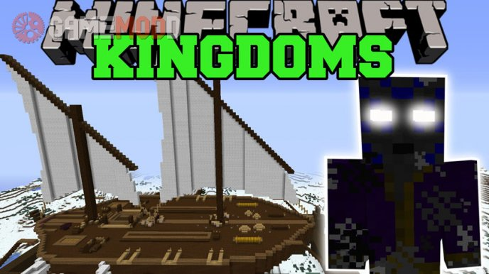 Kingdoms of The Overworld [1.7.10] [1.7.2] [1.6.4]