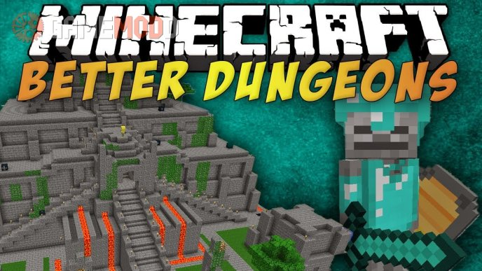 Better Dungeons (Chocolate quest) [1.7.10] [1.6.4] [1.5.2]