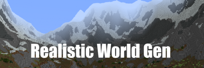 Realistic World Gen [1.7.10]
