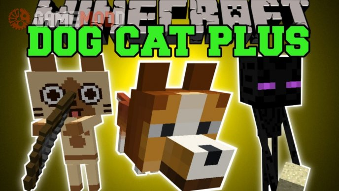 Dog Cat Plus [1.7.10] [1.7.2] [1.6.4]