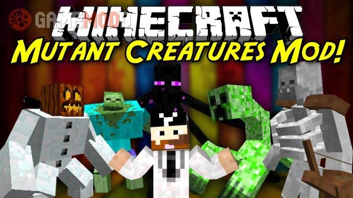 Mutant Creatures [1.7.10] [1.7.2] [1.6.4]