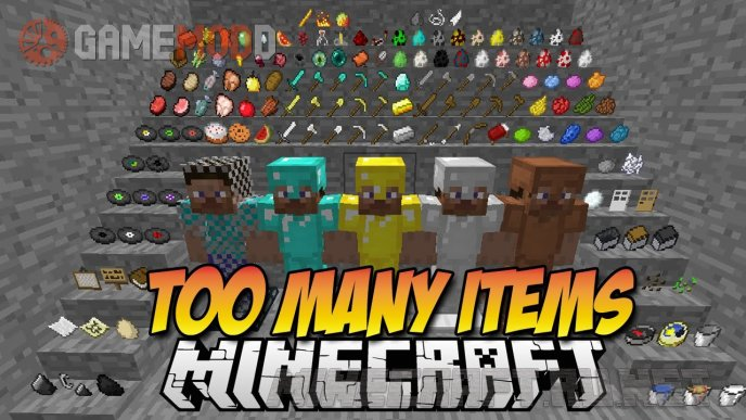 TooManyItems [1.8] [1.7.10] [1.7.2]