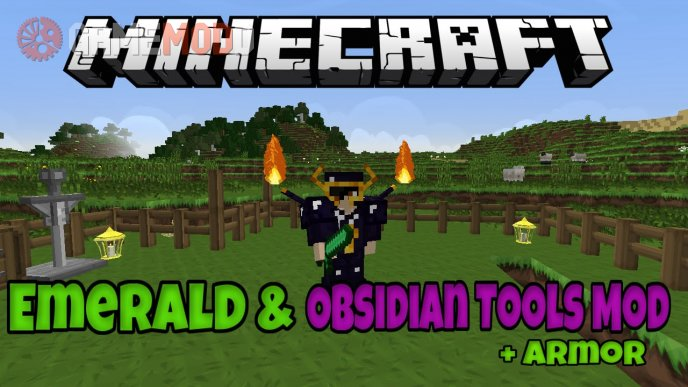 Emerald and Obsidian Tools [1.8] [1.7.10]