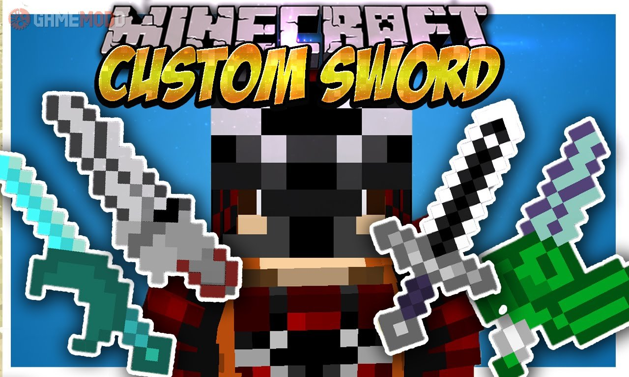 Custom Sword [1 7 10] » Minecraft - Mods | GAMEMODD