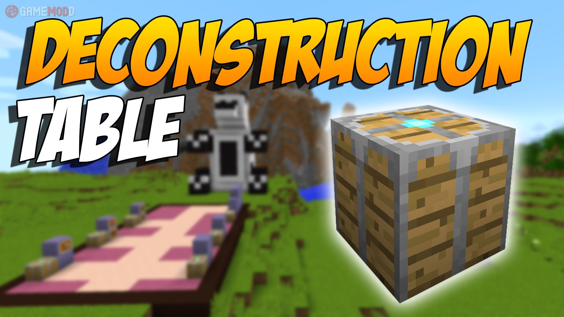 Deconstruction Table [1 8] [1 7 10] » Minecraft - Mods