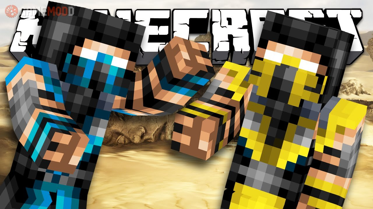 Mortal Kombat [1 7 10] » Minecraft - Mods | GAMEMODD