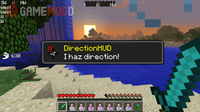 DirectionHUD [1.8] [1.7.10] [1.6.4]