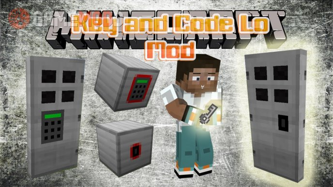 Key and Code Lock [1.7.10] [1.7.2] [1.6.4]