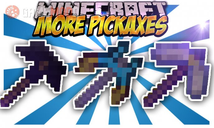 More Pickaxes [1.8] [1.7.10] [1.6.4]