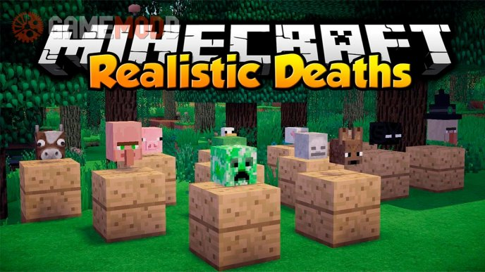 Realistic Deaths [1.7.10] [1.7.2]