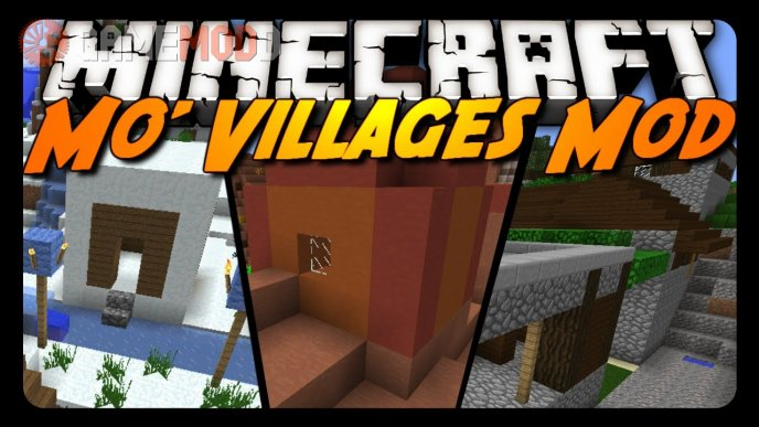 Mo' Villages by Pigs_FTW [1.7.10] [1.7.2]