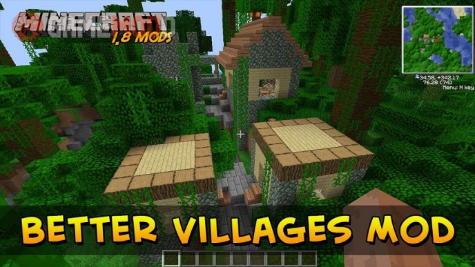 Better Villages [1.7.10] [1.7.2] [1.6.4]