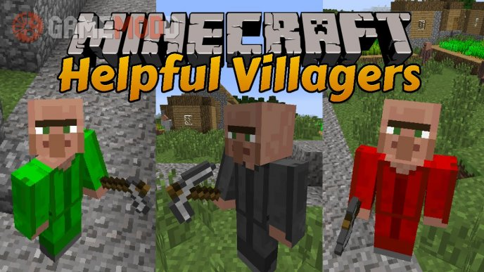 Helpful Villagers [1.7.10]
