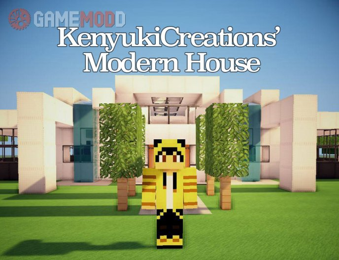 Modern House by KenyukiCreations