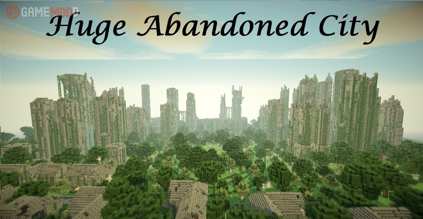 huge city minecraft map