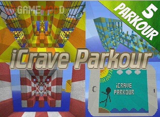 iCrave Parkour [1.8.1] [1.8]