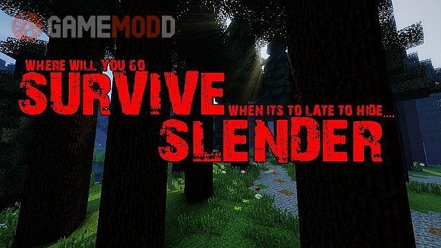 Survive Slender [1.8.3] [1.8]